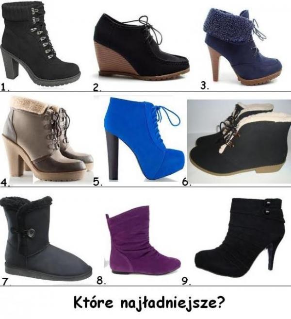 Buty - Które najładniejsze?
