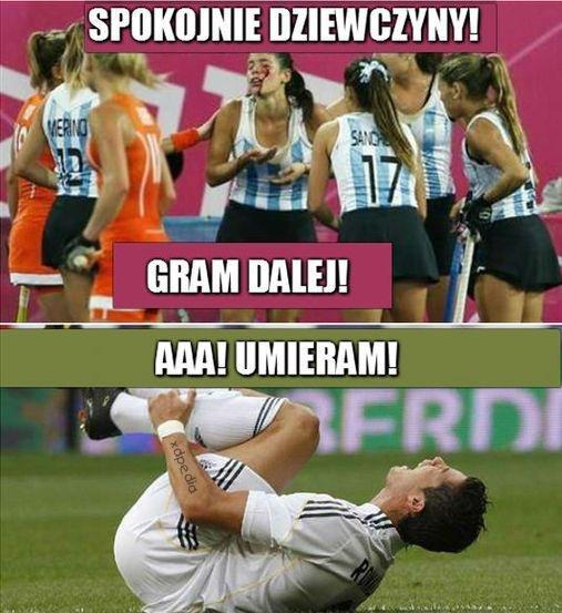 Spokojnie dziewczyny gram dalej. Cristiano Ronaldo - aaa! umieram!