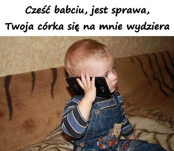Wnuczek Babcia śmieszne Humor Telefon śmieszne Teksty Xdpedia