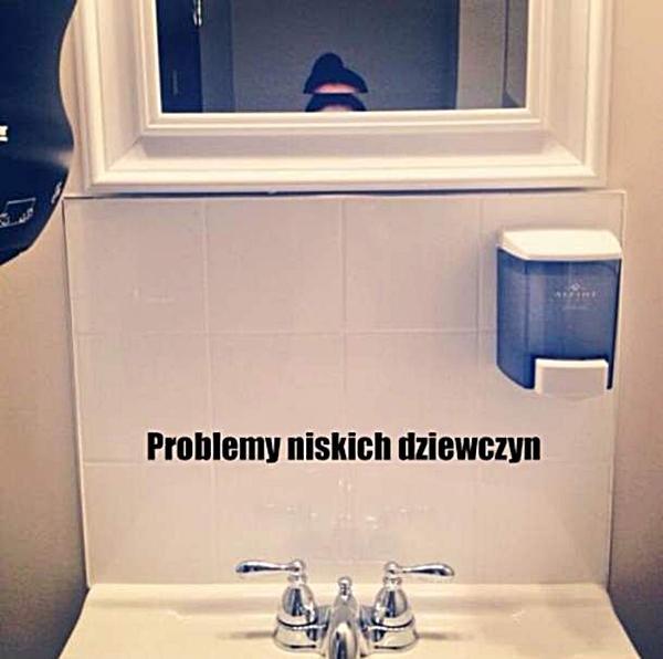 Problemy niskich dziewczyny