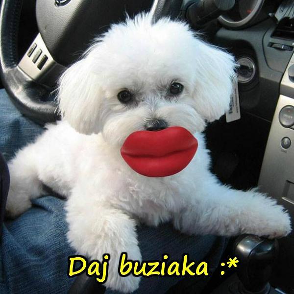 Daj buziaka :*