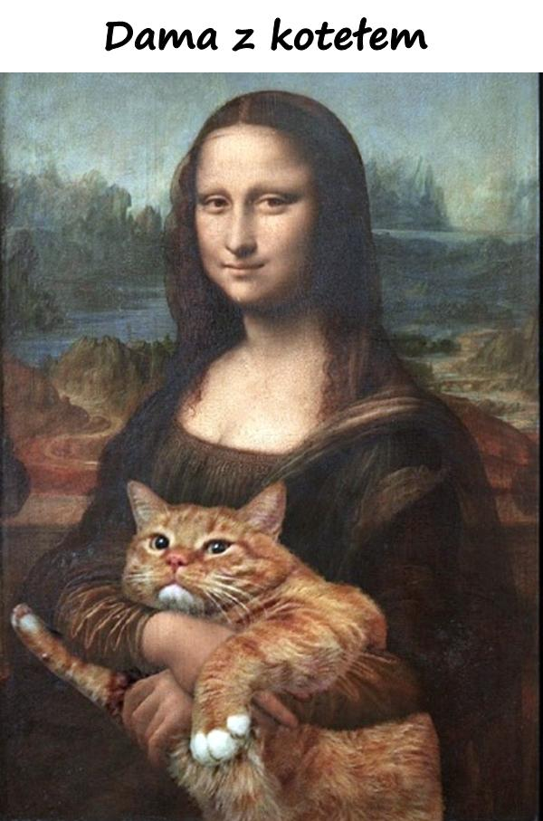 Dama z kotełem