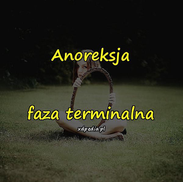 Anoreksja faza terminalna
