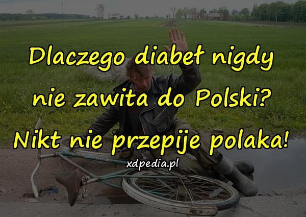 Dlaczego diabeł nigdy nie zawita do Polski? Nikt nie przepije polaka!