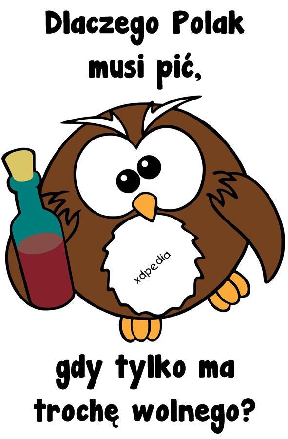 Dlaczego Polak musi pić, gdy tylko ma trochę wolnego?