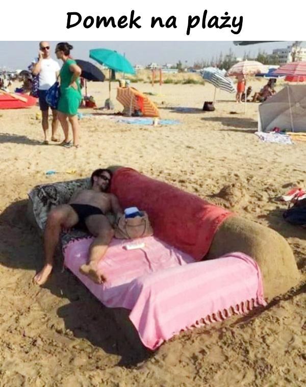 Domek na plaży