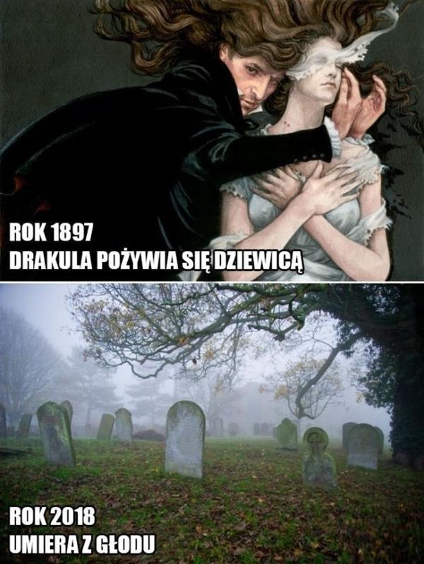 Drakula kiedyś i dziś