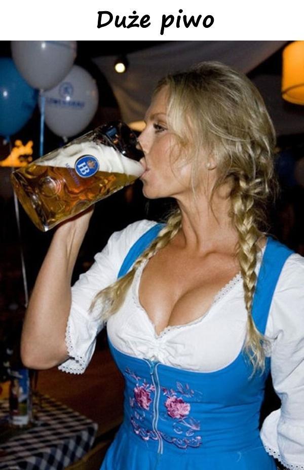 Duże piwo