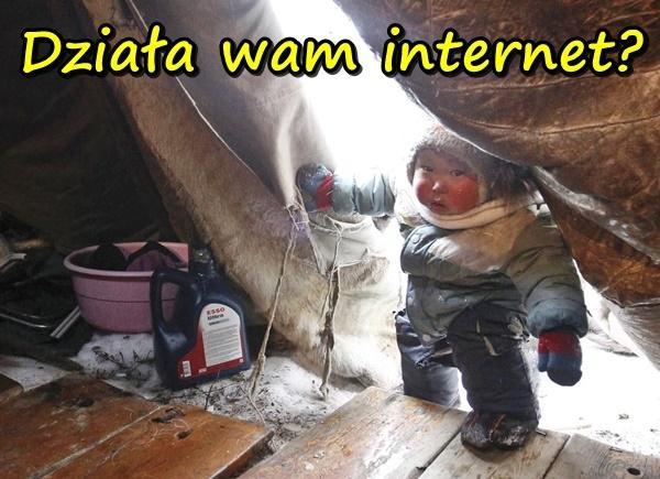 Działa wam internet?