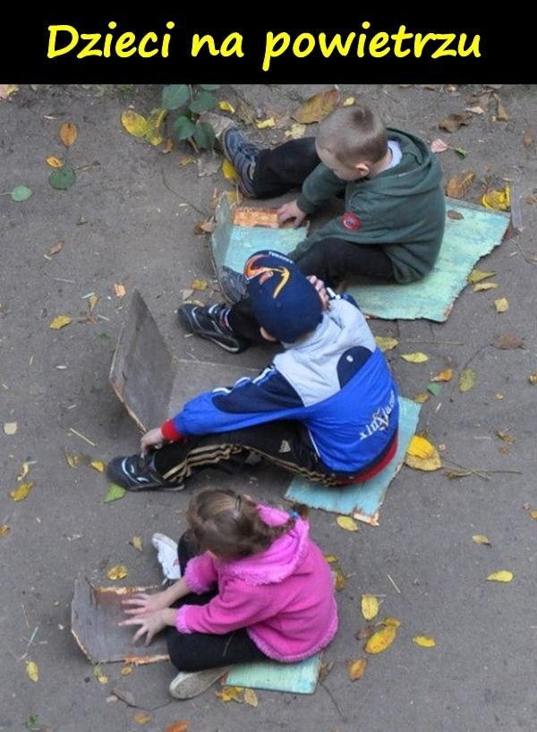 Dzieci na powietrzu