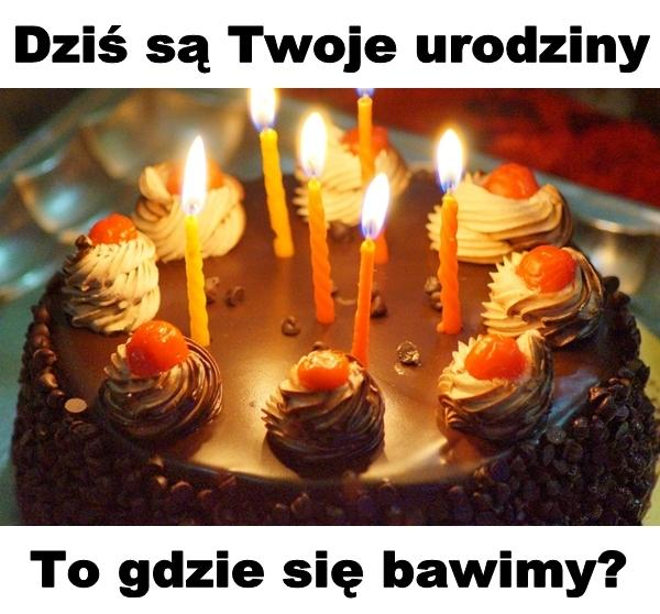 Dziś są Twoje urodziny. To gdzie się bawimy?