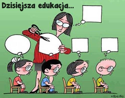 Dzisiejsza edukacja
