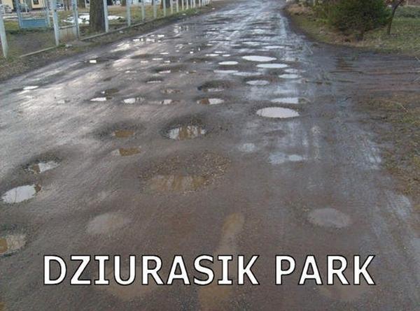 Dziurasik Park