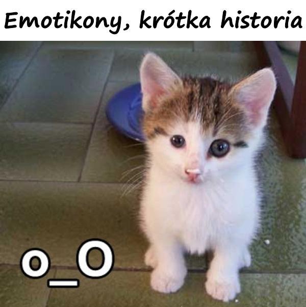Emotikony, krótka historia