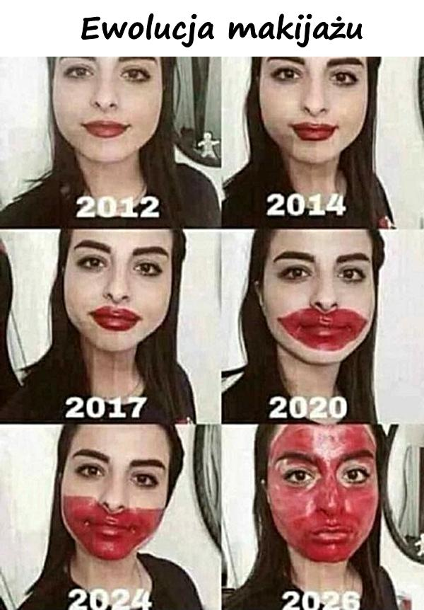 Ewolucja makijażu