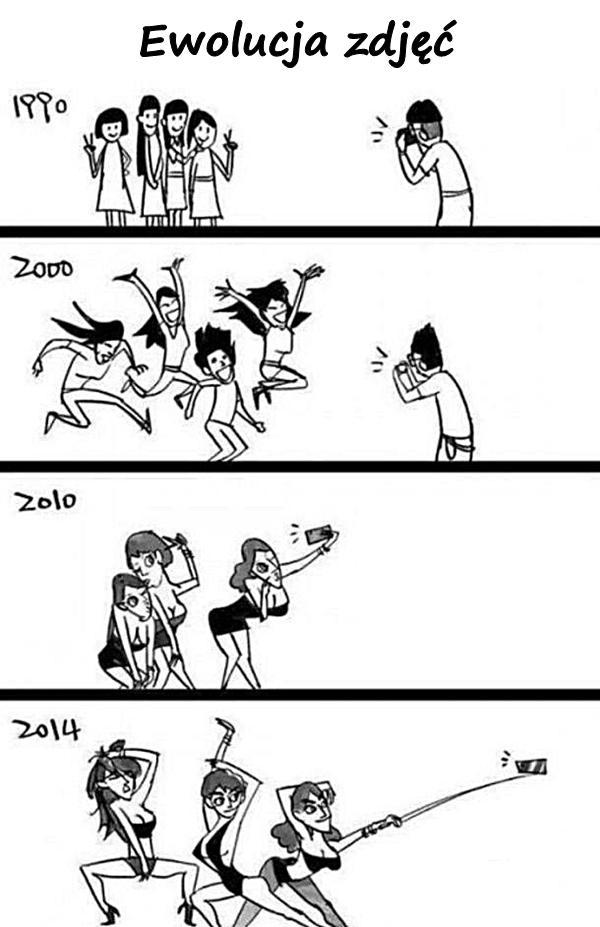Ewolucja zdjęć