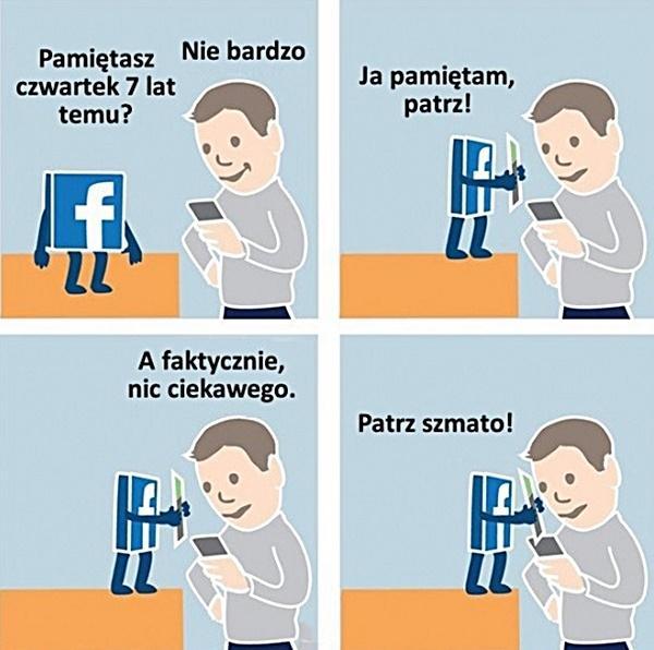 Facebook: Patrz szmato!
