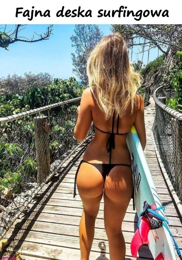 Fajna deska surfingowa