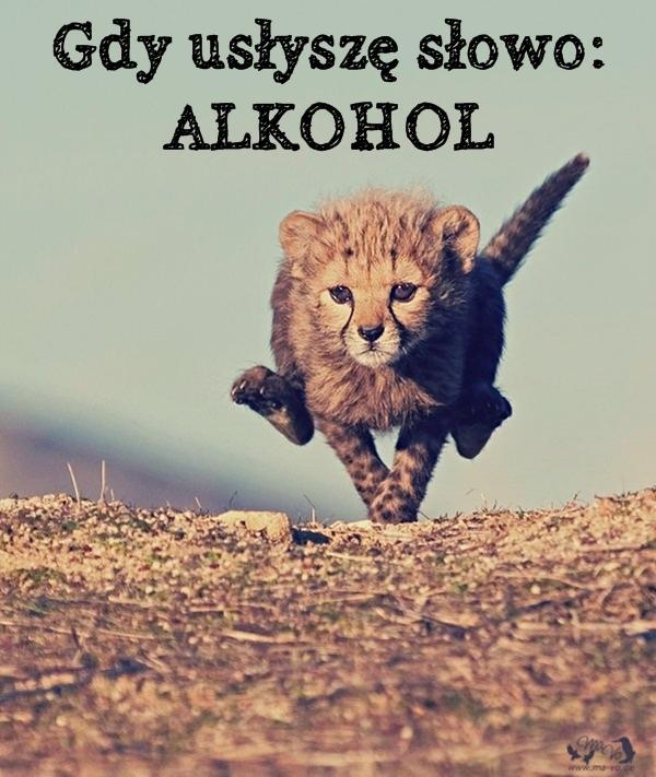 Gdy usłyszę słowo: ALKOHOL