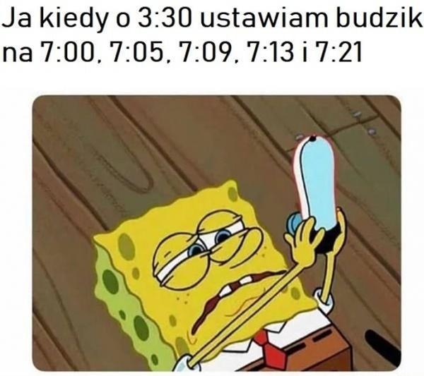 Gdy ustawiam budzik
