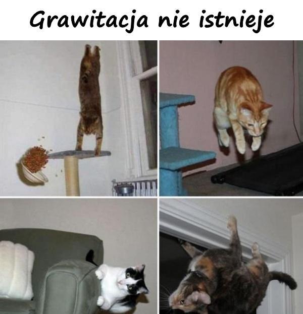 Grawitacja nie istnieje