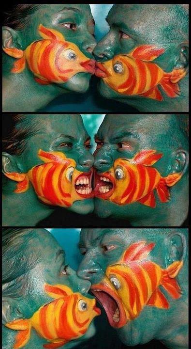 Historia rybek - niesamowita kreatywność!