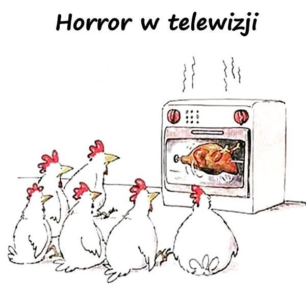 Horror w telewizji