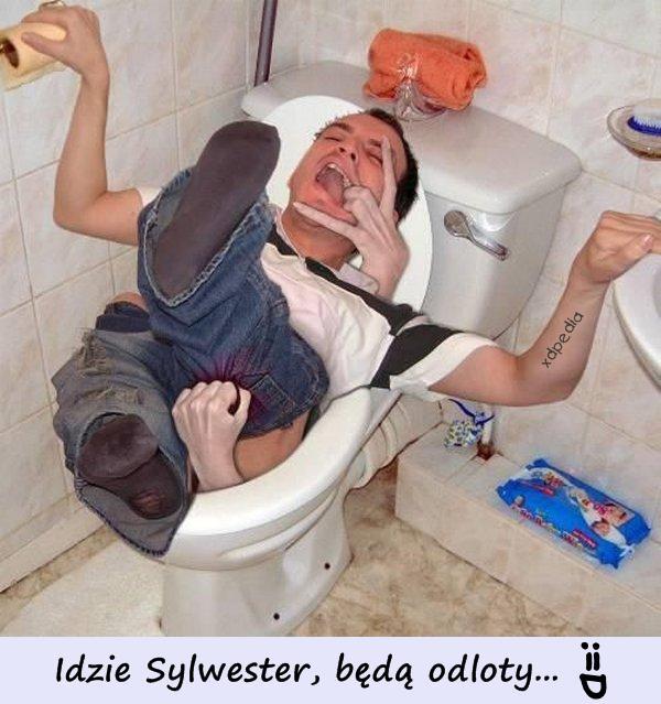 Idzie Sylwester, będą odloty... :=D