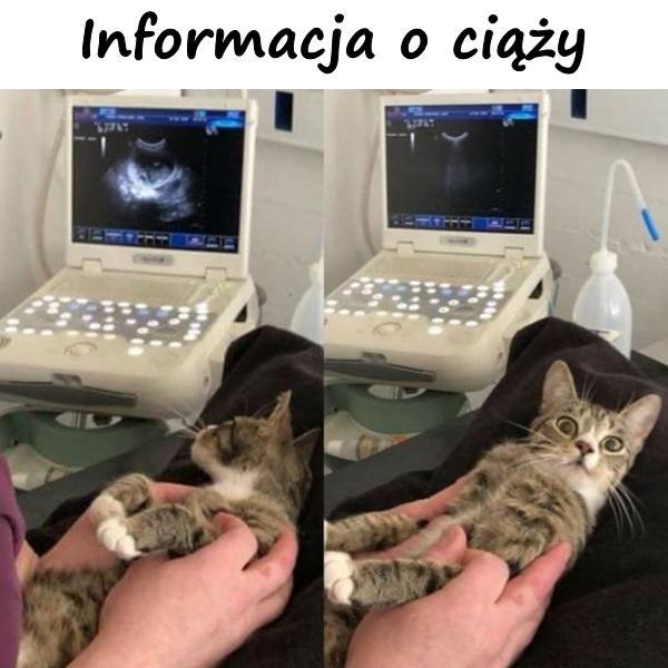 Informacja o ciąży