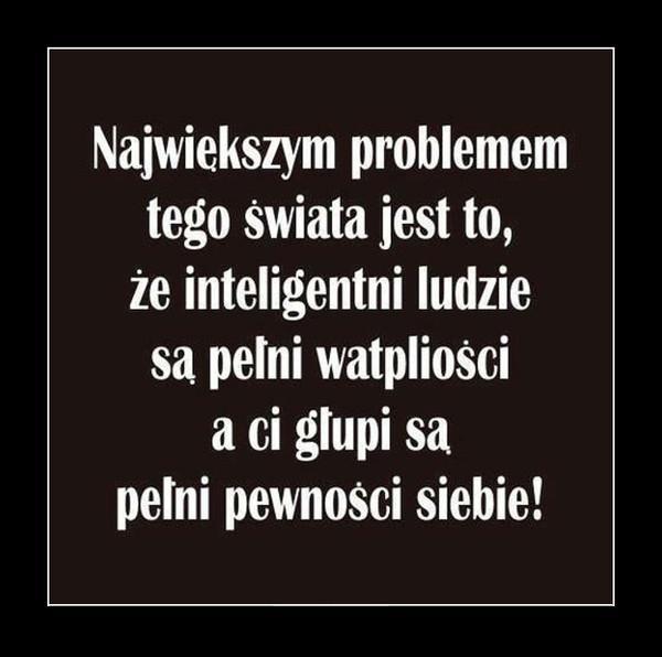 Inteligentni vs. głupi