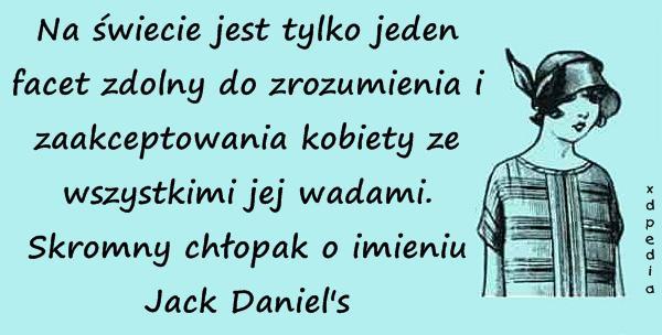 Jack Daniels - facet dla kobiety