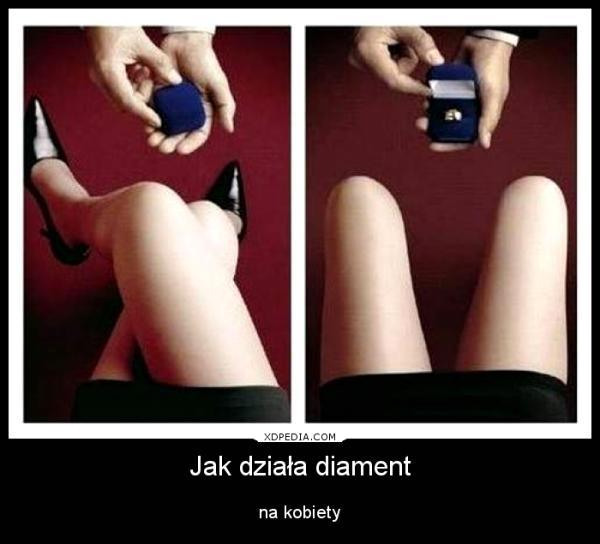 Jak działa diament na kobiety