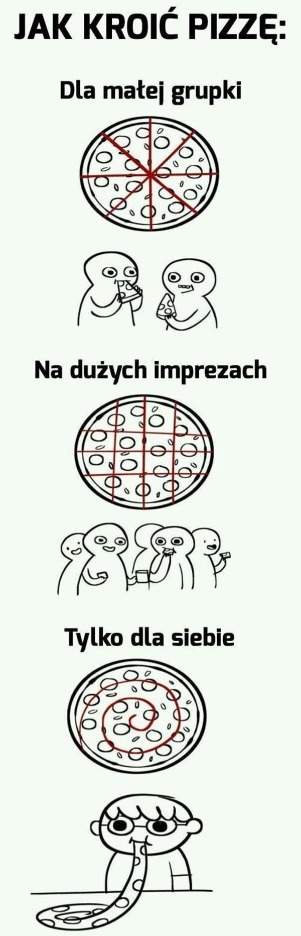 Jak kroić pizzę