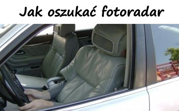 Jak oszukać fotoradar