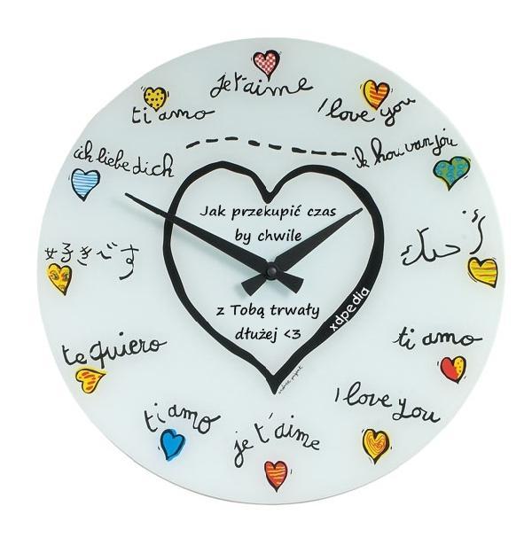 Jak przekupić czas by chwile z Tobą trwały dłużej <3