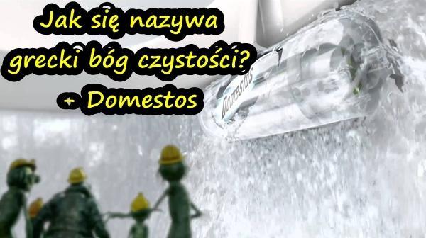 Jak się nazywa grecki bóg czystości? - Domestos