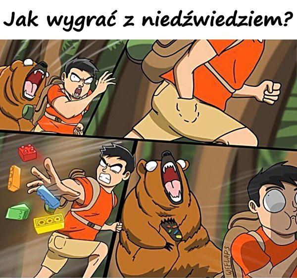 Jak wygrać z niedźwiedziem?