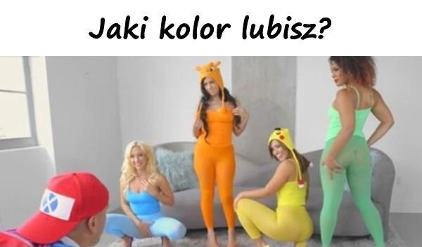 Jaki kolor lubisz?