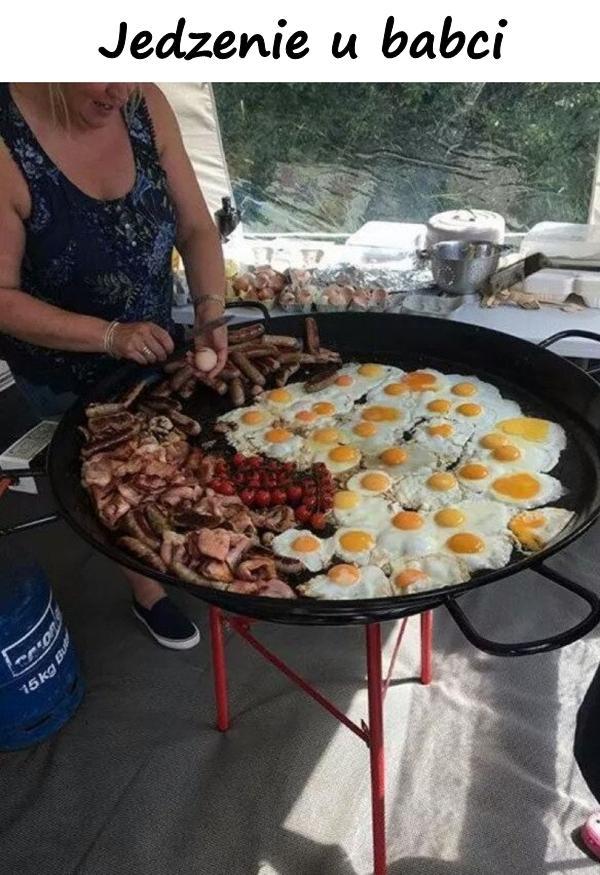 Jedzenie u babci