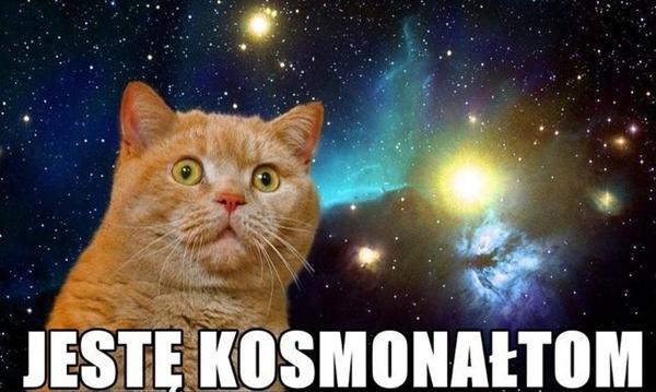Jestem kosmonautom