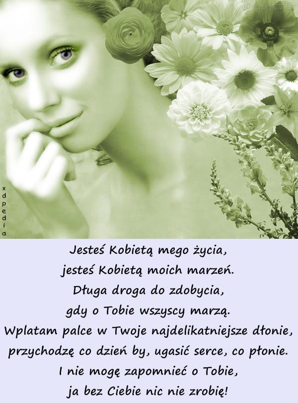 wiersze dla ukochanej kobiety