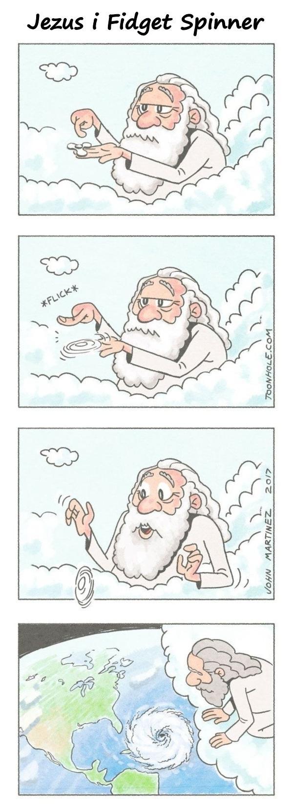 Jezus i Fidget Spinner