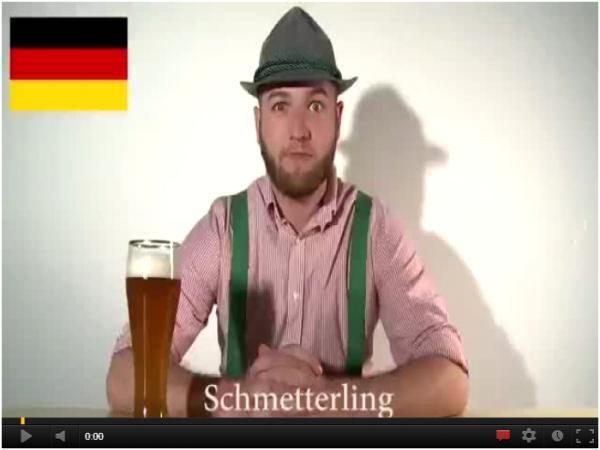 Język niemiecki jest taki delikatny i melodyjny