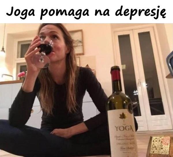 Joga pomaga na depresję