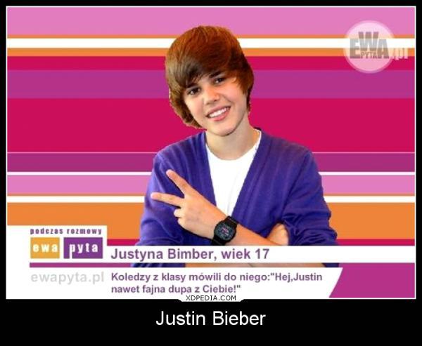 Koledzy z klasy mówili do niego: Hej, Justin nawet fajna dupa z Ciebie!