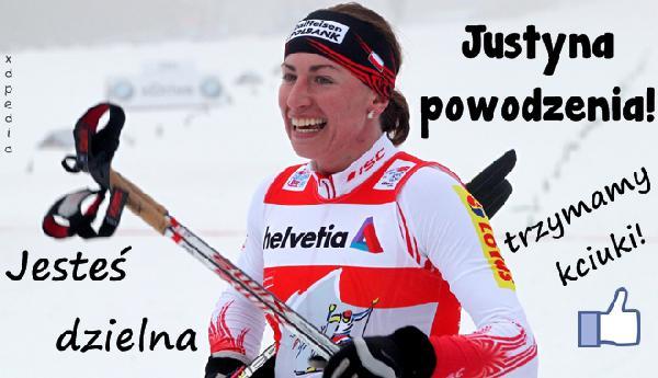 Justyna powodzenia, jesteś dzielna, trzymamy kciuki!
