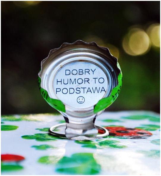 Kapsel Tymbark Dobry humor to podstawa :P