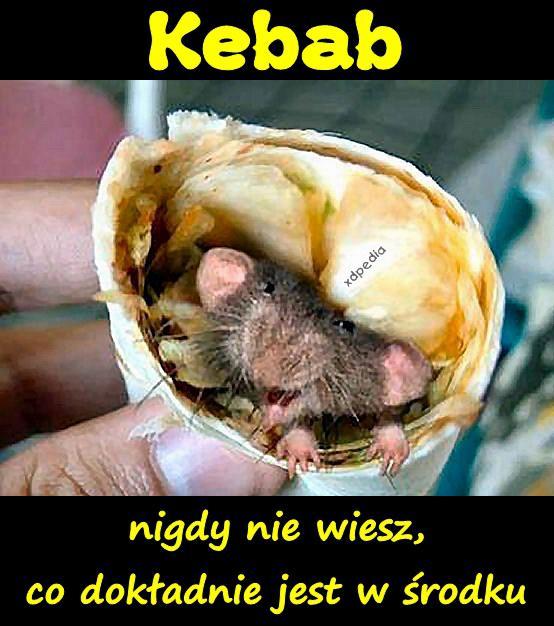 Kebab - nigdy nie wiesz, co dokładnie jest w środku