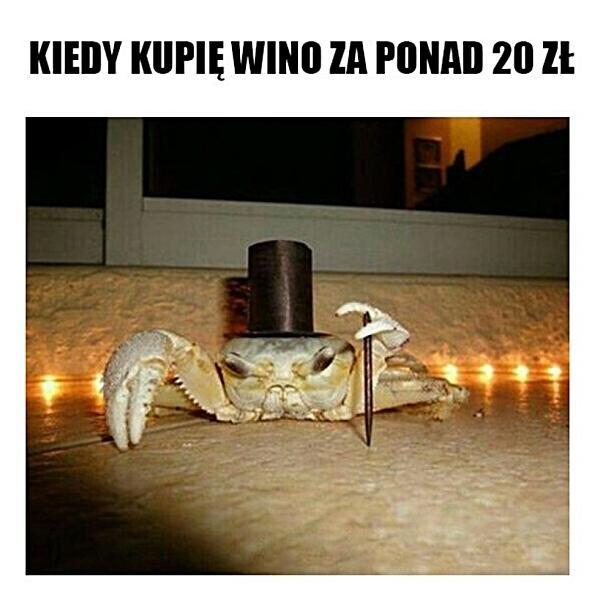 Kiedy kupię wino za ponad 20 zł