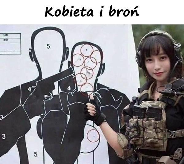 Kobieta i broń
